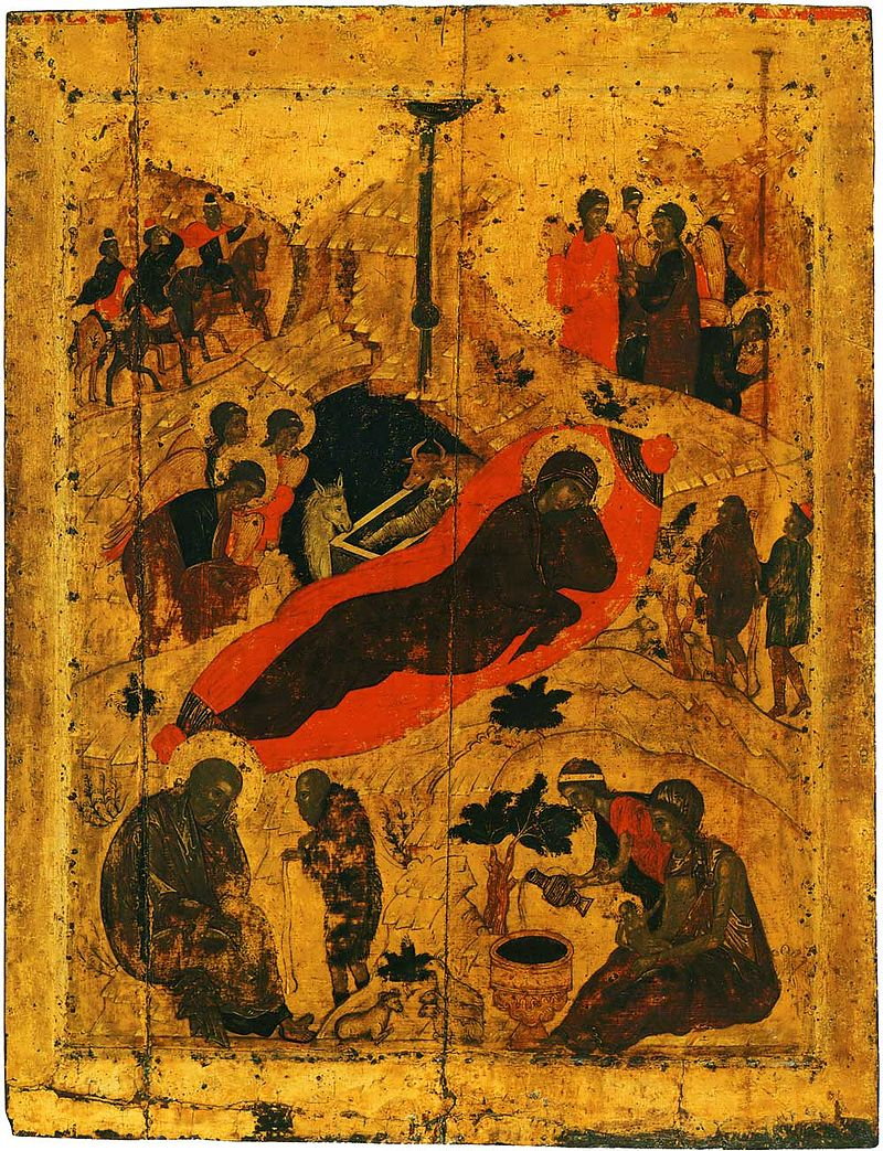 Nativity 15th c. Annunciation Cathedral in Moscow