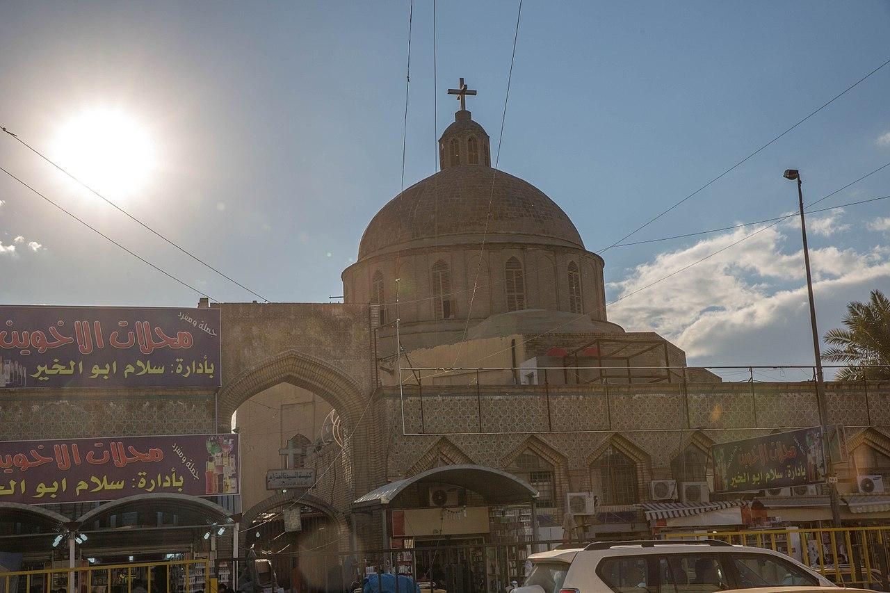 1280px 20160102 Baghdad Church 2016 Shorja Iraq