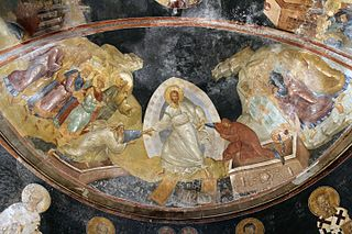 Anastasis fresco Chora Church Istanbul resolutie klein