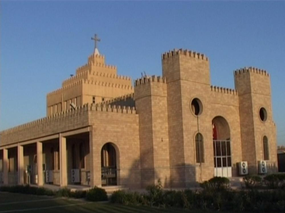 Chaldean Catholic Cathedral of Saint Joseph in Ankawa near Erbil Iraq